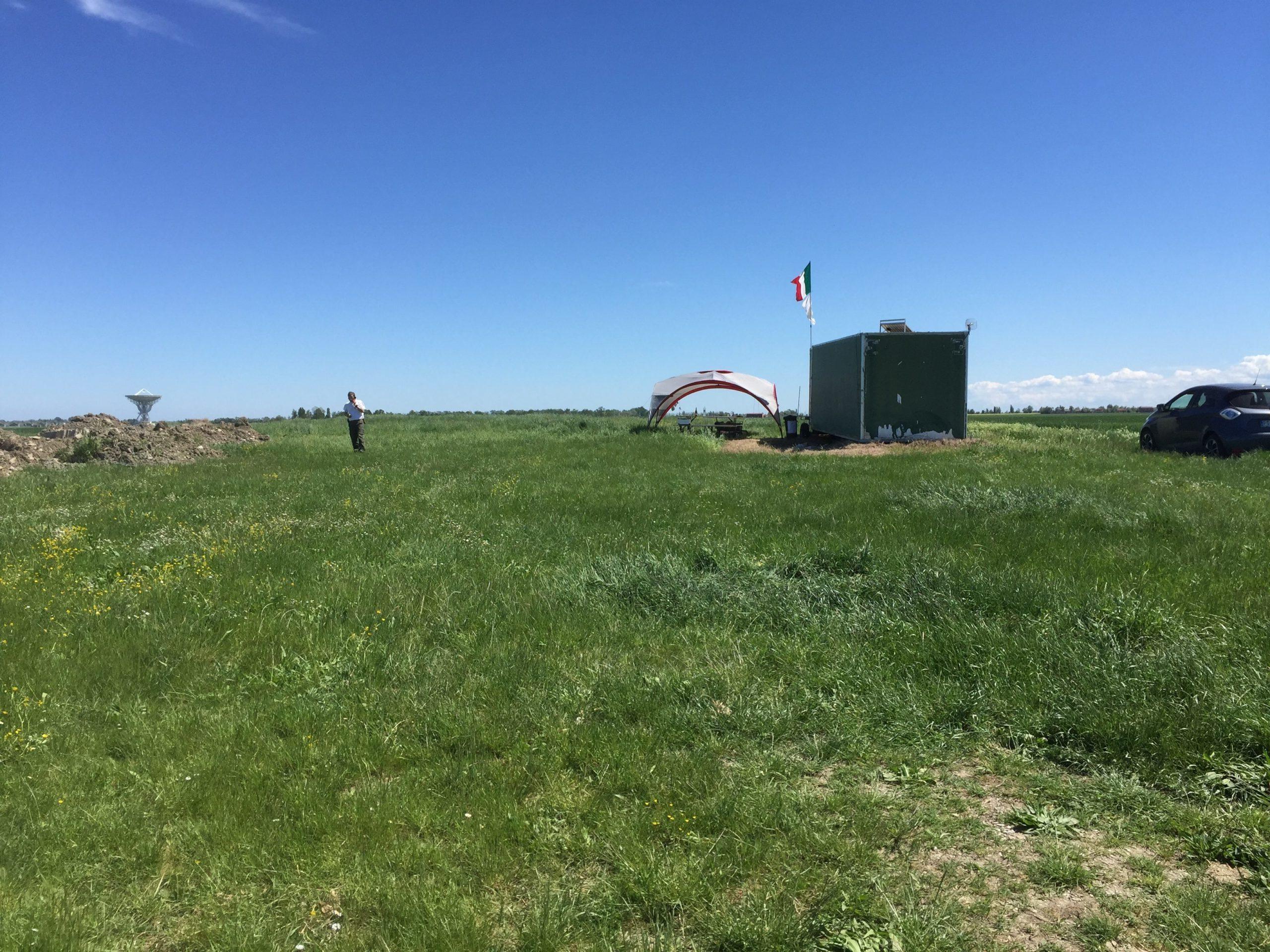 Area operativa campo di lancio ACME